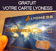 La carte Lyoness GRATUITE